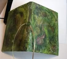 Mixed media nature book - (10x14cm)